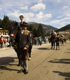 Riders Oktoberfest in Gerlos Austria Royalty Free Stock Photos