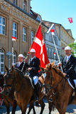 Riders Parade, Sonderborg, Denmark Stock Photography