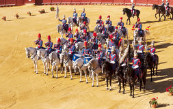 Riders of the royal guard Royalty Free Stock Images