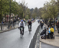 Riders Sportive Tour de Yorkshire cycle race Royalty Free Stock Photos
