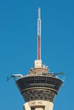 Rides on top of the Stratosphere Hotel in Las Vegas, USA Royalty Free Stock Photography