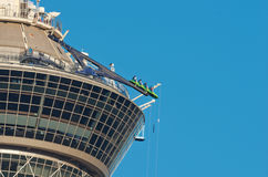 Rides on top of the Stratosphere Hotel in Las Vegas, USA Stock Images