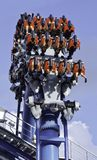 Rides at  UNIVERSAL STUDIOS SINGAPORE Royalty Free Stock Photo