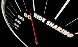 Rideshare Carpool Gear Shift Vehicle Car Stock Photo
