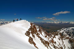 On the ridge Royalty Free Stock Image