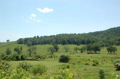 Ridge Appalachia blu immagini stock