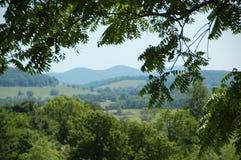 Ridge Appalachia blu immagine stock