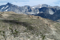 Ridge av bergtoppmötet Arkivbilder