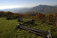 Ridge azul de Virgínia Foto de Stock