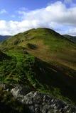 The ridge of Beda Fell Stock Photography