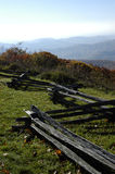 Ridge bleu de la Virginie Images libres de droits
