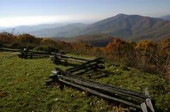 Ridge blu della Virginia Fotografia Stock