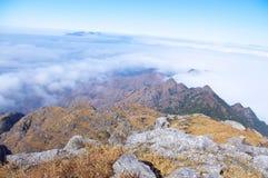 Ridge and cloud Stock Image