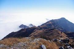 Ridge and cloud sea Stock Image