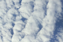 Ridge Clouds Royalty Free Stock Images