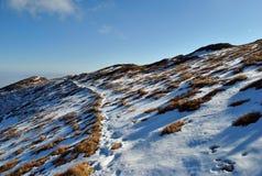 Ridge de Belianske tatry, Tatras alto, Eslováquia Fotos de Stock