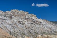 Ridge de piedra blanco Foto de archivo libre de regalías
