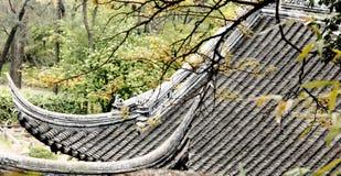Ridge du bâtiment chinois Photos libres de droits