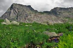 Ridge Ergaki,mountain Sleeping Sayan. royalty free stock images