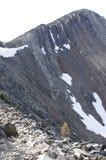 Ridge of Frosty Mountain stock photos