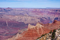 Ridge on the Grand Canyon Royalty Free Stock Images