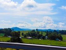 Ridge Highway View blu Fotografia Stock