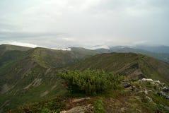 Ridge i molnen Royaltyfria Foton