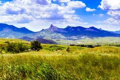 Ridge Kara Dag-Ansicht stockbilder
