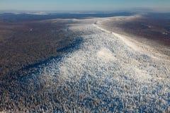 Ridge Karatau, Ural-Bergen, Rusland royalty-vrije stock fotografie