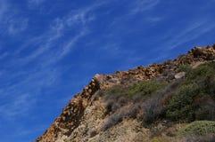 Ridge-line Againts the Sky Stock Photography