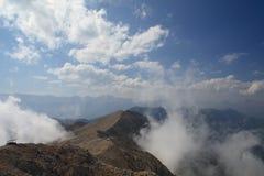 Ridge of the mountain Stock Photo