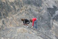 Ridge, Mountainous Landforms, Mountain, Rock Stock Photo