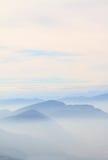 Ridge mountains Royalty Free Stock Photo