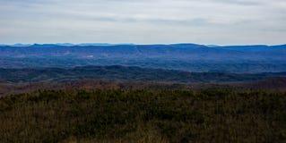Ridge Mountains azul de Dan Ingalls Overlook imagen de archivo libre de regalías