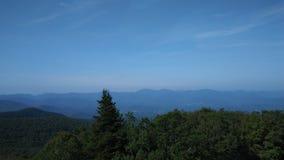 Ridge Mountains bleu de Brasstown chauve images stock