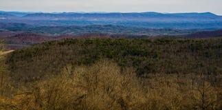 Ridge Mountains bleu de Dan Ingalls Overlook image stock