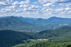 Ridge Mountains bleu de la Virginie, Etats-Unis photos stock