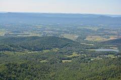 Ridge Mountains bleu en été Photo libre de droits