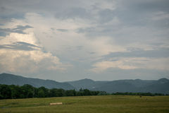 Ridge Mountains blu della Virginia Immagine Stock Libera da Diritti