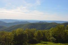 Ridge Mountains blu di estate Fotografia Stock