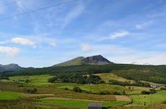 Ridge in open landscape Stock Photos