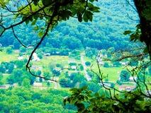 Ridge Overlook blu Fotografie Stock