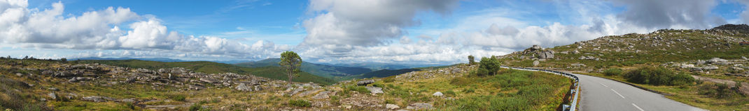Ridge panoramic Stock Photography