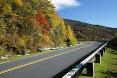 Ridge Parkway azul Fotografia de Stock Royalty Free