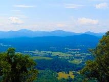 Ridge Skyline azul Foto de archivo libre de regalías