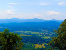 Ridge Skyline blu Fotografia Stock Libera da Diritti
