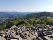 On the ridge of spruce knob stock photos