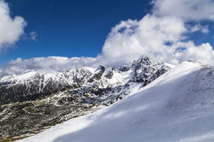 Ridge in the Tatra Mountains Stock Image