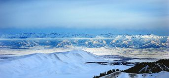The ridge of the Tien-Shan Stock Images