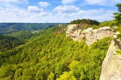 Ridge Top View Stock Photo
